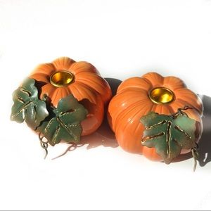 Other - ❤️ Pumpkin candle holders 🎃